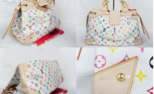 New Louis Vuitton LV Monogram Multicolor Bag M40123