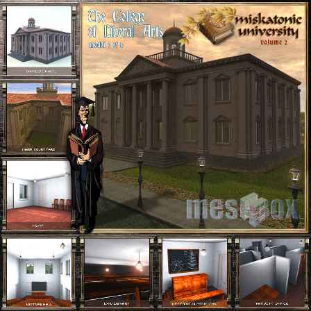 Poser, Vue, Max, Meshbox Miskatonic University Vol 1
