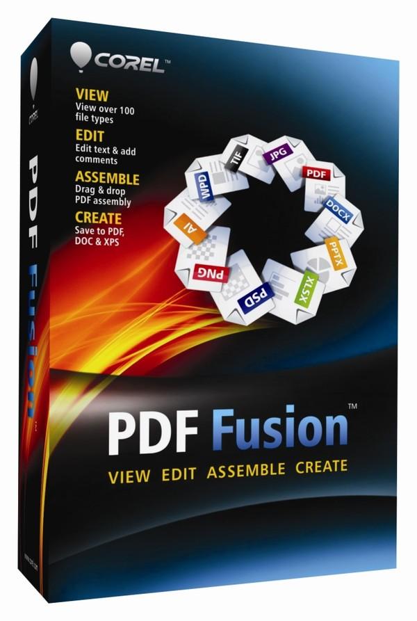 Corel PDF Fusion v1.0 Bilingual Repack