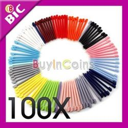 100 x Color Touch Stylus Pen For NDS NINTENDO DS LITE