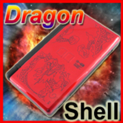 DS Lite DSL Housing Shell Replacement CHINESE DRAGON a