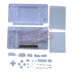 New Clear Crystal Housing Case For Nintendo DS lite US