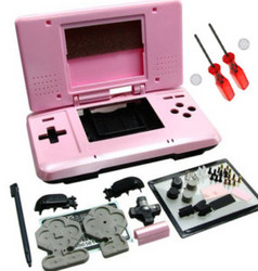 Pink Full Housing Shell Case For Nintendo DS NDS New
