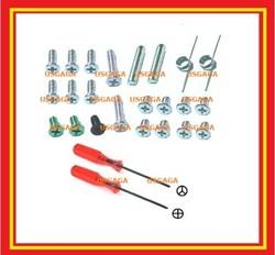 SCREW KIT & SPRINGS fit NINTENDO DS LITE +screwdriver