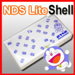 Shell Replacement For Nintendo DS Lite DORAEMON WHITE a