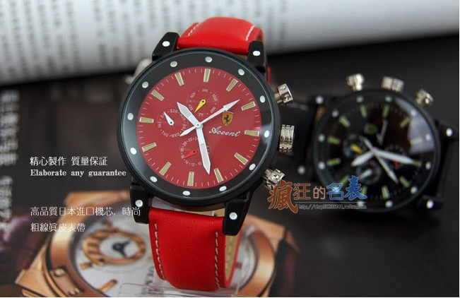 HOT SELL!! Ferrari watch Japan Quartz Add to Watchlist