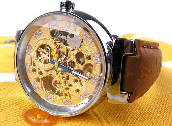 Louis Vuitton Mens Womens Belt Watch Watches