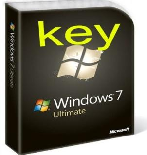 Microsoft Windows 7 Ultimate 32&64bit Key