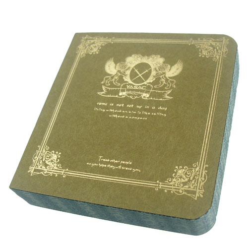 New YASAC Note book 80K(10 x9.4cm) 168 sheets Widely use