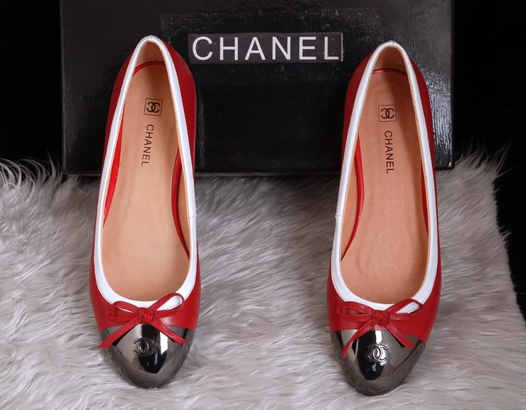 2011 hot chanel Leather Flat Shoes 01