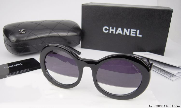 Chanel 5018 S5018 Half tint black women sunglasses