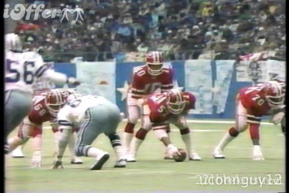 1978 NFL NFC DIVISIONAL PLAYOFFS DVD FALCONS AT COWBOYS