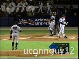 1999 WORLD SERIES GAMES 1-4 DVDS BRAVES VS YANKEES