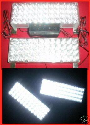 Universal Car Truck 48 LED Flash Light Strobe WHITE