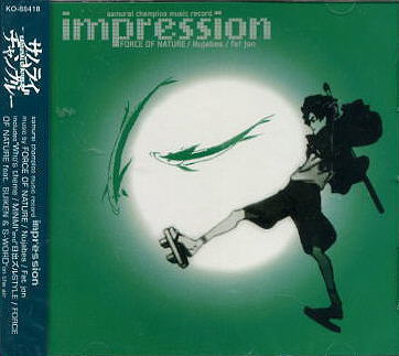 SAMURAI CHAMPLOO IMPRESSION OST CD
