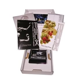 P90X Extreme Home Fitness 13DVD + guides & booklets