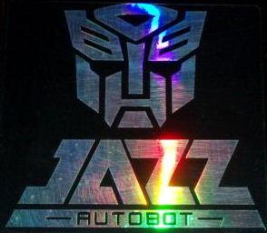 Car Sticker Decal Reflective Transformers JAZZ Autobot
