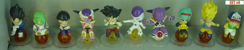 Dragonball Z Statue Set of 10 ~Collection #4~