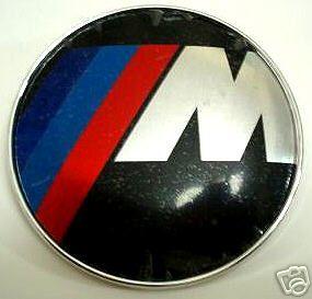 Car Bonnet Hood Trunk Roundel Badge Emblem BMW M