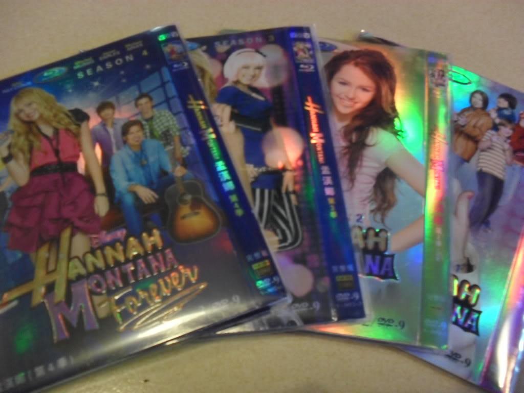 Hannah Montana Seasons1-4 10DVD-D9