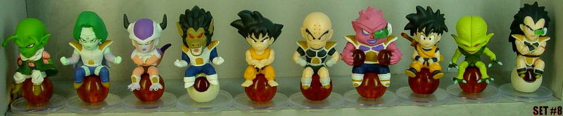 Dragonball Z Statue Set of 10 ~Collection #8~