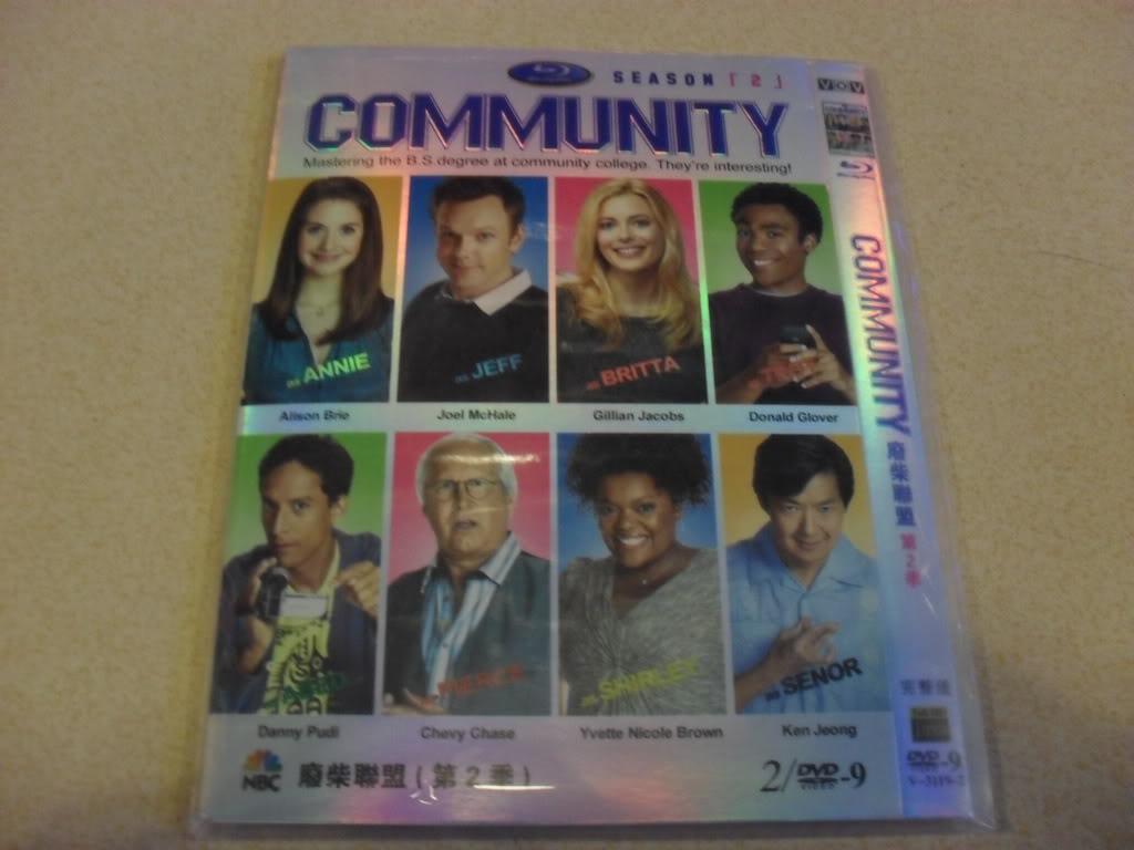 Community season2 2DVD-D9