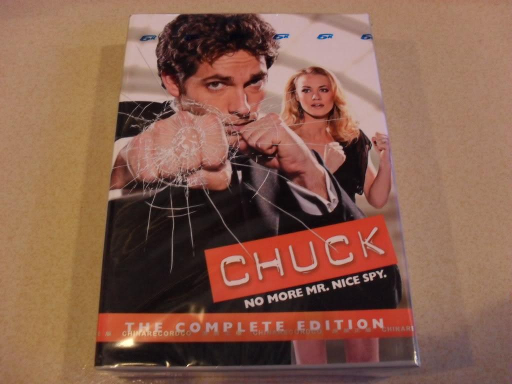 Chuck Complete Seasons4 (8DVD Sealed Boxset)