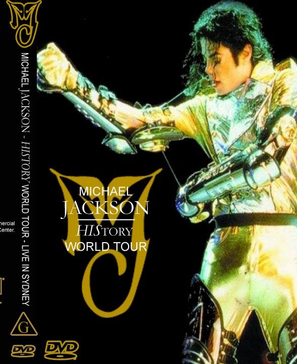 MICHAEL JACKSON LIVE IN SIDNEY AUSTRALIA 1996 DVD