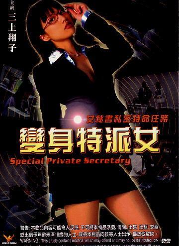 SPECIAL PRIVATE SECRETARY JAPANESE MOVIE DVD