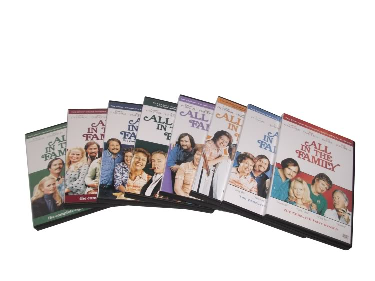 all in the family Season1-8(24DVD Sealed Boxset)