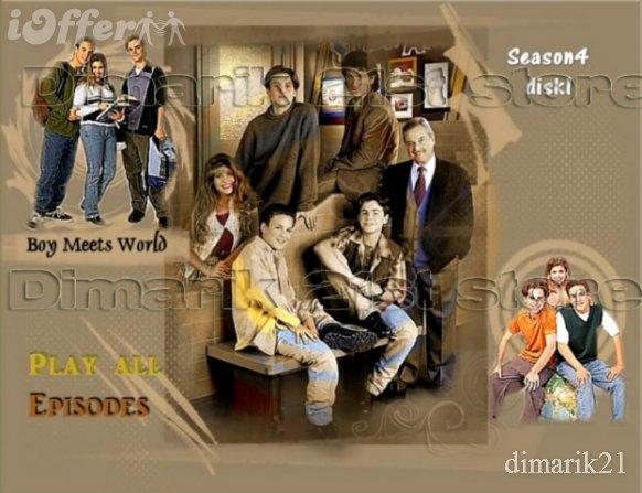 Boy meets world Complete series 7 seasons on 21disks