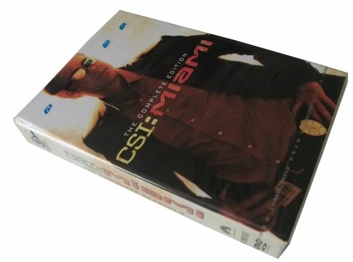 CSI Miami Seasons9 (8DVD Sealed Boxset)