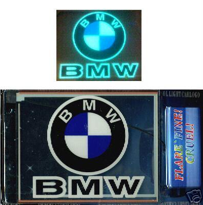BMW Window Shining Neon Lighting Lamp