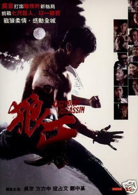 LEGENDARY ASSASSIN CHINESE MOVIE DVD