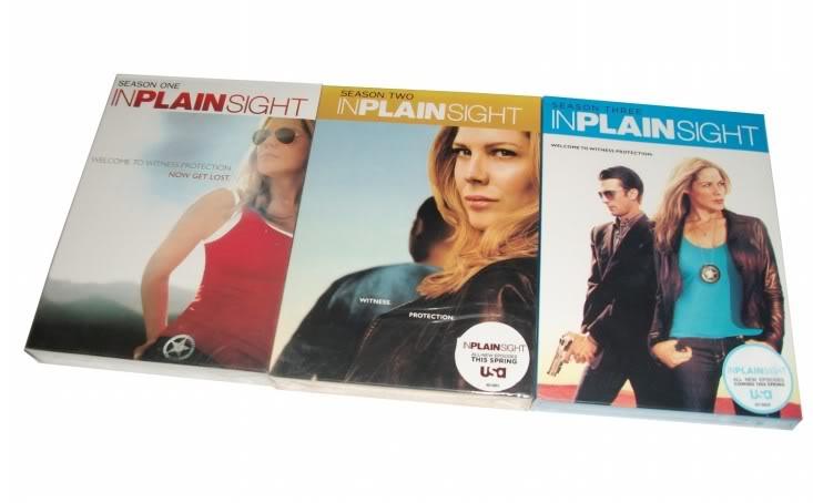 In Plain Sight Seasons1-3(9DVD Sealed Boxset)