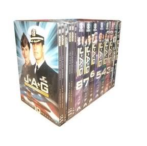 JAG-Judge Advocate Genera Season1-10 (55DVD Sealed Boxset)