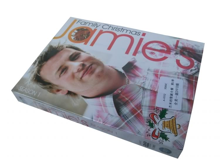 Jamie's Family Christmas Seasons1 (3DVD Sealed Boxset)
