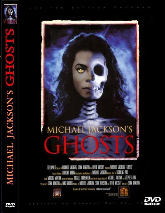 MICHAEL JACKSON'S GHOSTS 1997 DVD
