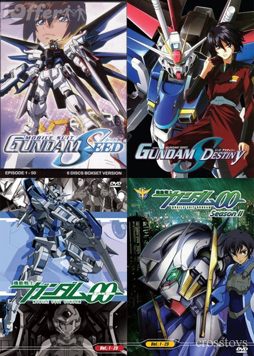 Mobile Suit Gundam 00 0079 seed destiny TV Series DVD
