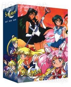 Sailor Moon TV Series S-Super S-Movies Stars Uncut DVD