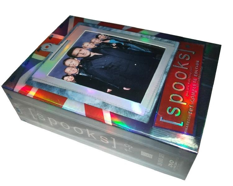 Spooks The Seasons1-9 (39DVD Sealed Boxset)