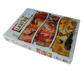 LION KING 1-3 6DVD Sealed Boxset