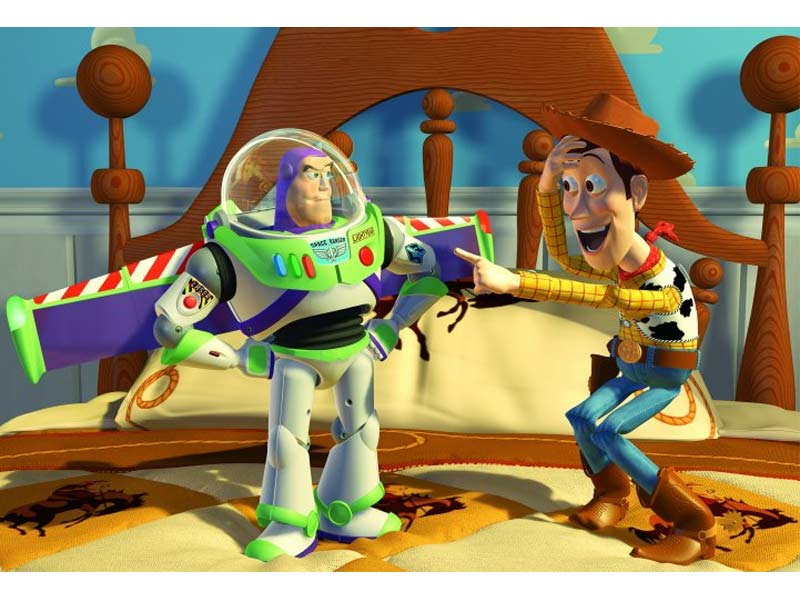 TOY STORY 3 EDIBLE CAKE IMAGE TOPPING DECORATING