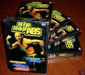 Brand New HIP HOP ABS Level 1-2- 6 DVD SET +2cards