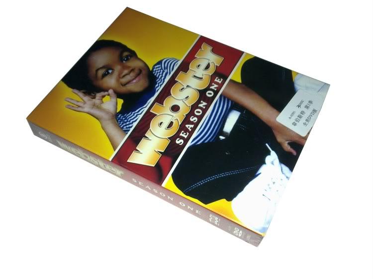 Webster Seasons1 (3DVD Sealed Boxset)