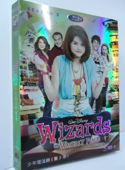 Wizards Of Waverly Place Season3 3DVDBOXSET-D9