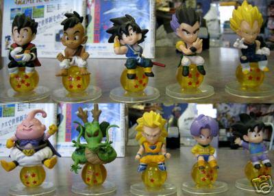 Dragonball Z Statue Set of 10