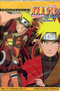 Naruto Uncut Part 5 TV Series DVD Set