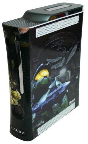 Xbox 360 Halo Faceplate & Console Skin Xbox 360