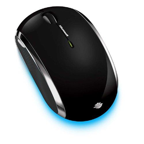 Microsoft Wireless Mobile Mouse 6000 - Black Mac OS X